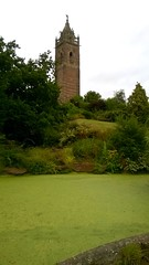 Cabot Tower (Peter Curbishley) Tags: bristol pond algae cabottower