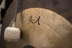 9 July 16 Clore Studio - the gong (Nikon Girl 88) Tags: musician music house choir opera royal instrument gong tenor
