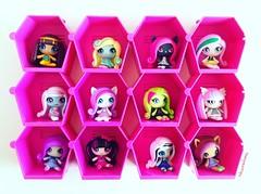 Monster High Mini's (TheGreatSpid) Tags: monster high mh monsterhigh mini minis mattel blind bag