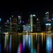 Singapores skyline at a glance