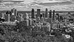 Montreal BW (brev99) Tags: montreal canada cityscape skyline city sigma1770os d7100 perfecteffects10 blackandwhite ononesoftware buildings clouds