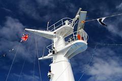 Thomson Spirit (David Chennell - DavidC.Photography) Tags: abstract ship flags thomson mast navigation radar
