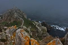 Nboa en Prior (termitero) Tags: niebla fog sea mar acantilados
