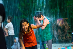 Tu es pure comme la pluie. (- Ali Rankouhi) Tags: iran tehran water fire park children playing happiness joy love        enfants parc eau rire bonheur