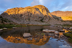 Wind River Reflection (Don Geyer) Tags: reflectioninatarnabovelittlesenecalakenearsunsetinthe bridgerwilderness wyoming usa rockymountains northamerica habitat environment naturalenvironment habitats environments naturalenvironments lake lakes landscape landscapes mountain mountains outdoor outside outdoors peak peaks rock rocks scenic scenery scenics wild uncultivated wilderness backcountry wilds ecology ecosystem ecosystems nature brilliant brilliance summer summertime summers summertimes evening evenings sunset sunsets water sunshine sunlight sunny reflectioninatarnabovelittlesenecalakenearsunsetinthewindriverranger