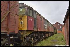 No 47761 16th July 2016 Swanwick Midland Railway (Ian Sharman 1963) Tags: no 47761 16th july 2016 swanwick midland railway class 47 duff diesel engine rail railways train trains loco locomotive heritage line butterley 47038 47564