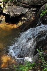 INTO THE POOL (KayLov) Tags: vacation travel mountains ga georgia camping creek river waterfall running flowing moving rushing cupid falls young harris rocks