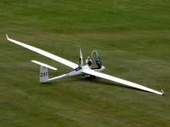 G-CCLR / 26E Schleicher ASH 26 E cn 26209 Dunstable Downs 18Aug16 (kerrydavidtaylor) Tags: glider poweredglider sailplane