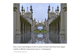 Brighton Pavilion the swimming pool that never was by howard kendall july 2016 (howardkendall42) Tags: brightonpavilion howardkendall42 imagine if pool swimmingpool brighton imagination