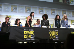 Connie Nielsen, Ming-Na Wen, Morena Baccarin, Melissa Benoist, Nathalie Emmanuel, Tatiana Maslany & Lucy Lawless (Gage Skidmore) Tags: connie nielsen ming na wen morena baccarin melissa benoist nathalie emmanuel tatiana maslany lucy lawless san diego comic con international california convention center ew entertainment weekly women who kick ass