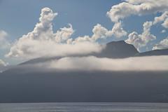 Skyer & tke -|- Clouds & fog (erlingsi) Tags: cloudporn clouds skyer himmel sky folkestad volda overfjorden fjord sunnmre norway scandinavia august