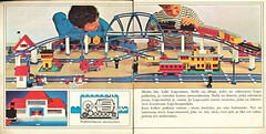 003 68 Catalogue Finnish Garys (GoodPlay2) Tags: 1968 1969 lego train layout track 45v blue railroad railway vintage 60s 70s 1960s 1970s old system classic retro set nostalgia