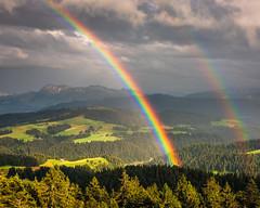 Memories (naturemomentsphotography) Tags: regenbogen emmental chuderhsi sommer gewitter naturemoments fineartphotography fineartprints wolken bern schweiz eggiwil