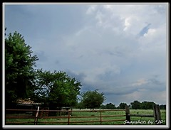 More August Thunderstorm (Snapshots by JD) Tags: oklahoma thunderstorms rain clouds skies