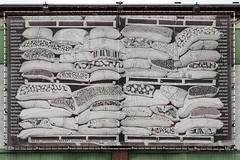 Canvas Fenixloods 1 (R. Engelsman) Tags: fenixloods1 fenixloods gevel katendrecht dekaap veerlaan rotterdam rotjeknor nederland holland netherlands text 010 tekst doek canvas spandoek