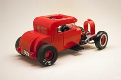 Drag Rod _10 (_Tiler) Tags: lego car vehicle hotrod dragrod dragrace