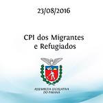 CPI dos Migrantes e Refugiados 23/08/2016