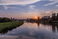 Landscape (blooddrainer) Tags: landscape nature sky plovdiv sunset