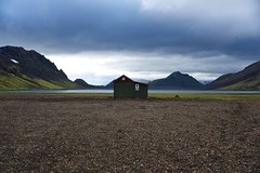 On the Lake (Alleardo) Tags: nature green island iceland islanda nikon d750 trekking trip light clouds landscape river water lake