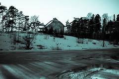 Itinen Pukkisaari (Jori Samonen) Tags: house building winter snow ice tree plant sky itinen east pukkisaari island helsinki finland nikon d3200 180550 mm f3556 nikond3200 180550mmf3556