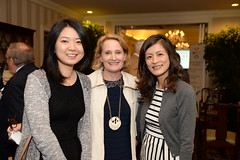 2016 Legacy Lunch Monica Wu Jennifer DeVoll Wei Zhang