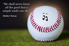 Smile (ANVRecife) Tags: macro smile canon ball baseball 7d grin concept smirk softball vallejos creativephoto creativeconcept conceptphotos