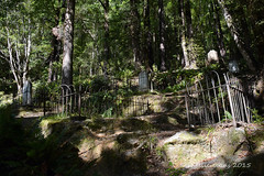 Historic Lyell Cemetery, Buller Gorge, Nelson (flyingkiwigirl) Tags: road old camp cemetery gold ghost mining gorge doc buller lyell 8mile gibbstown alpinebattery croesusbattery zalatown