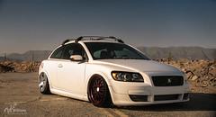 ovlov-1 (Tyler Dillon) Tags: cars car canon volvo 5d bags slammed stance bagged c30 volvoc30 5dc stanced