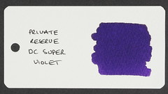 Private Reserve DC Super Violet - Word Card