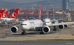Turkish Airlines 777-300(ER) TC-JJR (birrlad) Tags: turkey airplane airport haze ramp ataturk taxi aircraft aviation airplanes istanbul apron international airline heat boeing airways airlines departure ist takeoff 777 runway turkish airliner departing taxiway b777 777300er b773 7773f2er tcjjr