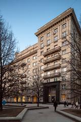1424 (-5Nap-) Tags: city architecture moscow soviet  nikolaev  tretyakovskaya  sovarch canoneos5dmarkii  samyangts24mmf35edasumc