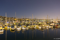 Harbour San Diego (faenschi) Tags: california travel usa seascape night landscape harbor us long exposure unitedstates sandiego harbour yacht hafen beacheslandscapes