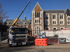 Christchurch en pleine reconstruction