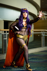 SP_45801 (Patcave) Tags: costumes anime film canon comics emblem movie fire eos book photo dc costume orlando comic photoshoot cosplay f14 culture 85mm sigma pop hallway fantasy convention comicbook scifi snapshots megacon marvel ef 1740mm f4 2015 patcave 5d3 tharja megacon2015