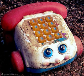 Old phone, old days ... wonderful childhood.