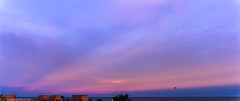Evening hues (infiniteframes.ryan) Tags: sky sun evening photo purple sony horizon hues setting a6000