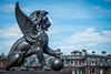 Holborn Viaduct | Winged Lion (James_Beard) Tags: london statue holborn wingedlion holbornviaduct sonyrx100m3