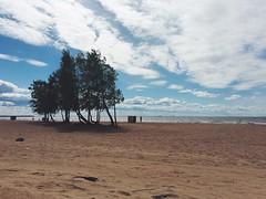 beach (Alexey Tyudelekov) Tags: sky beach sand gulf petersburg finnish