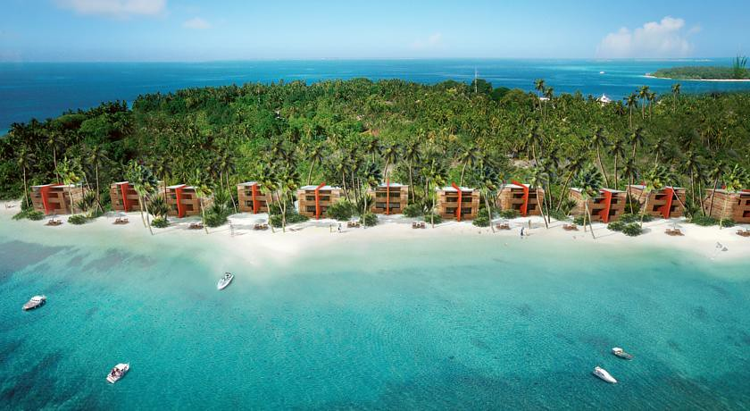 The Barefoot Eco Hotel - Aerial