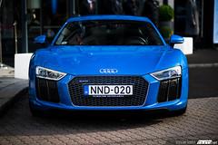 Audi R8 V10 2015. (Stefan Sobot) Tags: nikon hungary budapest audi v10 r8 2015 runningaround d600 bud3net kadigde