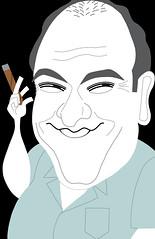 James Gandolfini (OshiIllustrator) Tags: tv newjersey satire humor mob entertainment caricature editorial hbo sopranos obituary thesopranos jamesgandolfini darwing gandolfini
