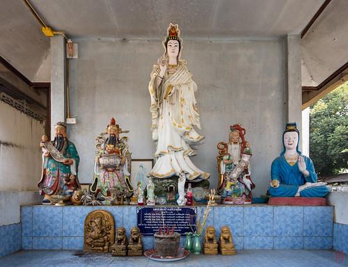 Un peu de Chine à Wat Pa Ngoi
