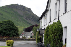 The Lion and the Lamb (Cumberland Patriot) Tags: park mountain lake mountains english hotel swan district grasmere lion national cumbria lamb and macdonald helm the crag cumbrian