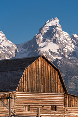 John Moulton Barn, Grand Teton National Park (2) (DaveWilsonPhotography) Tags: agriculture landscape wy nationalpark barn johnmoulton farm nxnw moultonbarn grandtetons wyoming grand teton national park gtnp wooden