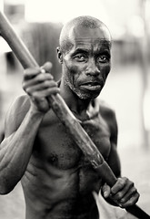 Madagascar, fisherman (Dietmar Temps) Tags: africa afrika afrique madagascar tribes ethnic ethnology ethnie culture tradition traditional ritual people face blackandwhite fisher fisherman morombe naturallight outdoor anakao vezo sakalava pirogue outrigger boat