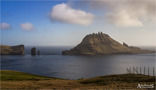 The fog is lifting, Faroe Islands  (explored)