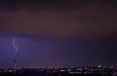 DC Lightning Storm (Tammy_Hineline) Tags: storm monument nature weather skyline dc washington lightning