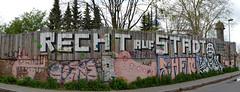Streetart (Bjrn O) Tags: streetart berlin graffiti friedrichshain xberg kreuzberg gentrifizierung rechtaufstadt politik politics stadtentwicklung aboutblank ostkreuz gentrification mauer wall