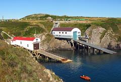 Lifeboat Houses (Rob_Anderson_UK) Tags: stdavids pembrokeshire porthstinian lifeboathouse rnli coast wales seascape