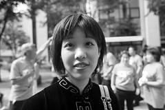 Kobe Kobe Festival 164 (momoto0) Tags: canon eos 5d markii eos5dmarkii 28mm f18 usm ef28mmf18 bw blackwhite monochrom street portrait